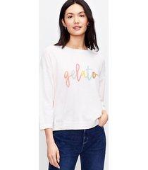 loft gelato sweater