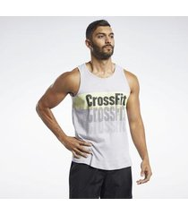 top reebok sport crossfit® repeat graphic tanktop