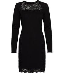 mauve dress korte jurk zwart marciano by guess