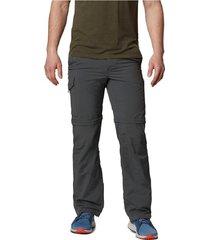 pantalón gris columbia silver ridge convertible pant
