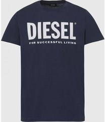 polera t diego logo t shirt 81e azul diesel