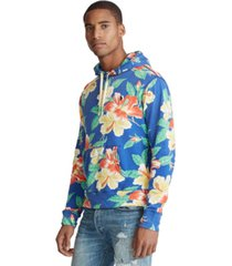 polo ralph lauren men's floral french terry hoodie