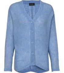 5194 - silje cardigan gebreide trui cardigan blauw sand