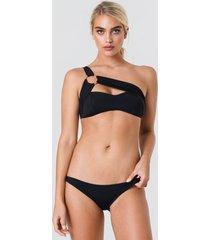 trendyol basic bikini bottom - black