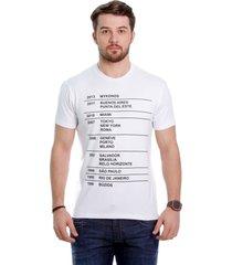 camiseta javali branca eskala - kanui
