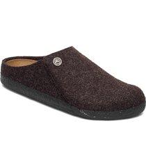 zermatt soft footbed slippers tofflor svart birkenstock