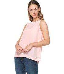blusa rosa nautica