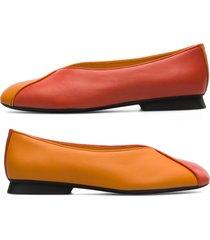 camper twins, zapatos planos mujer, rojo/naranja, talla 41 (eu), k201082-002