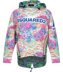 dsquared2 x k-way sweatshirts