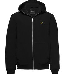 softshell jacket dun jack zwart lyle & scott