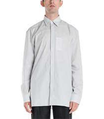gedrukt button up shirt