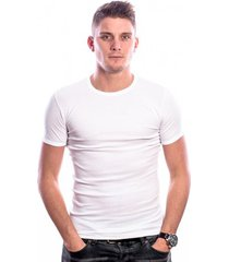 beeren men t-shirt ronde hals wit (3 pack)