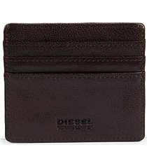 johnas logo leather card holder