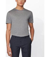 boss men's t-tribel 44 medium grey t-shirt