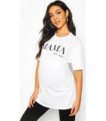 maternity mama est 2020 t-shirt, white