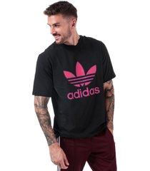 mens trefoil logo t-shirt