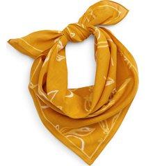 madewell bandana in tungsten glow multi tangerine at nordstrom