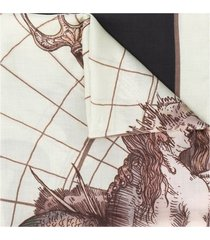givenchy astral print scarf - neutrals