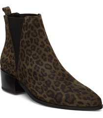karen shoes boots ankle boots ankle boots with heel brun pavement