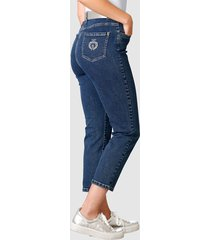 7/8-jeans paola blå
