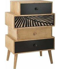 komoda drewniana z szufladami cale
