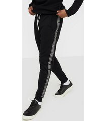 boss daky203 casual trousers byxor black