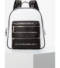 plecak z napisami z przodu model caley