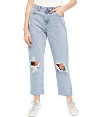 women's bdg urban outfitters pax ripped high waist jeans