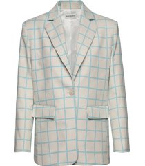 pohjoinen iso ruutu jacket blazer multi/mönstrad marimekko