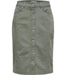 denim rok high waist