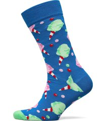 cotton candy sock underwear socks regular socks blå happy socks