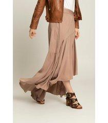 falda maxi wrap para mujer