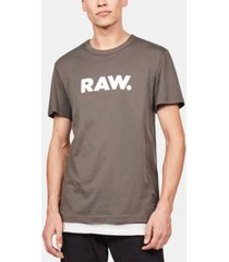g-star raw men's holorn raw logo t-shirt