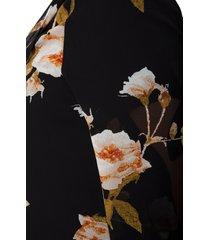 plus size women's estelle rosewood open front chiffon cardigan