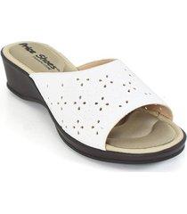 priceshoes sandalia confort dama 472116blanco