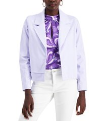 alfani petite open-front jacket, created for macy's