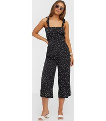 ax paris spotty jumpsuit jumpsuits