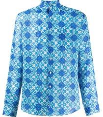 peninsula swimwear sperlonga shirt - blue