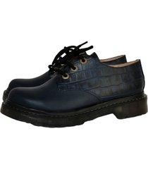 zapato azul miye collazo emprendedor