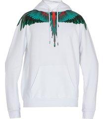marcelo burlon green wings sweatshirt