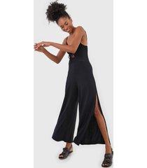 macacã£o roxy pantalona where you move preto - preto - feminino - dafiti