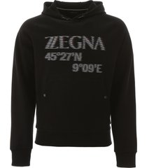 hooded sweatshirt with logo