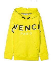givenchy hooded sweatshirt with print