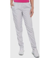 pantalón gris claro bronzini active éxito