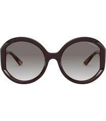 prada prada pr 22xs bordeaux sunglasses