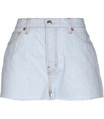 iro. jeans denim shorts
