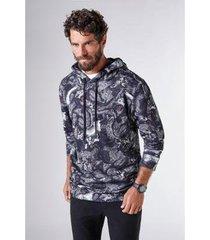 casaco com capuz moletom caos reserva masculino