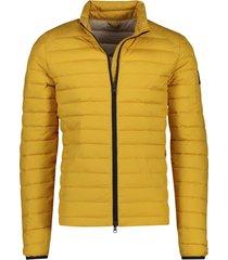 geel tussenjack ecoalf beret