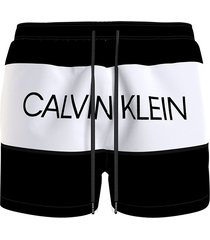 calvin klein zwembroek heren zwart/wit - beh