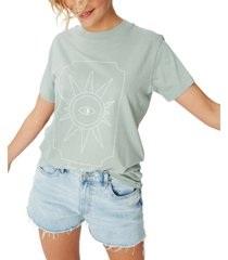 cotton on astrology t-shirt